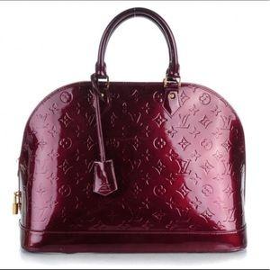 Louis Vuitton Alma Vernis GM (LARGE)
